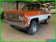 1976 Chevrolet Blazer Cheyenne