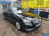 MERCEDES E220 BLACK 2014 LEATHER NAV AUTO PADDLE DHIFT AIR CON