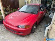HONDA CIVIC 1993 low 147808 kms  EG4 AUTO SPORTS EXHAUST CARS STARTS