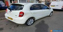 Nissan Micra 2012 Automatic 5 Door Sat Nav