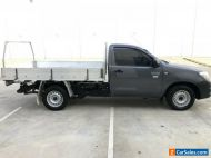 TOYOTA HILUX 2010 WORKMATE UTE ONLY 15KMS 3 SEATER ALLOY TRAY SINGLE CAB 4X2