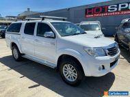 2013 Toyota Hilux KUN26R SR5 White Manual M Utility