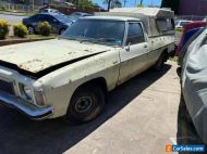 1976 HX V8 Ute with canopy