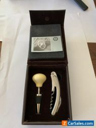 Mercedes Benz Collectable Wine Cork and Opener SLS, AMG, S65, E63,