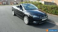 Ford focus 2.0 td coupe cabriolet 2007 only 48k with fsh stunning condition !!