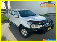 2015 Holden Colorado White Automatic A Utility