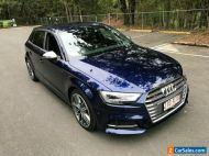 2017 Audi S3 8V MY16 Sportback 2.0 TFSI Quattro Navarra Blue Automatic 6sp A