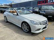 2011 Mercedes-Benz E-Class A207 E250 CDI BlueEFFICIENCY White Automatic A