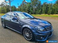 2009 Mercedes-Benz C63 V8 6.3L LUXURY GTRONIC SEDAN - FEB 2021 REGO  - 122,000km