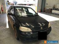 2003 Black Holden Astra Sedan