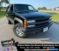 1998 Chevrolet Tahoe  Blazer 2dr, 4x4, 5.7L, Auto, Black Ext, Gray Int