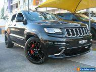 2014 Jeep Grand Cherokee WK MY14 SRT 8 (4x4) Black Automatic 8sp A Wagon