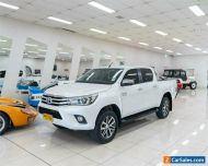 2018 Toyota Hilux GUN126R MY17 SR5 (4x4) White Automatic 6sp A Dual Cab Utility