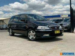 2001 Honda Odyssey 2nd Gen Wagon 7st 5dr Auto 4sp, 2.3i Blue Automatic A Wagon