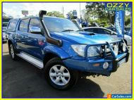 2011 Toyota Hilux KUN26R MY11 Upgrade SR5 (4x4) Blue Automatic 4sp A