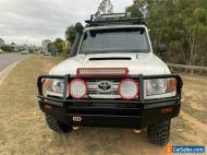 2012 Toyota Landcruiser VDJ79R Workmate White Manual M Cab Chassis