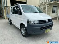 2010 Volkswagen Transporter T5 White Automatic A Cab Chassis