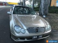 2002 Mercedes Benz C200 Kompressor Sports Coupe,W203,178,000km,RWC & REG,Melb