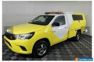 Toyota Hilux SR 2017 GUN123R Manual Yellow cab chassis Roadside mobile Mechanic