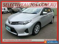 2013 Toyota Corolla ZRE182R Ascent Silver Automatic 7sp A Hatchback