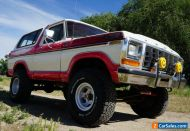 1978 Ford Bronco Trailer Special