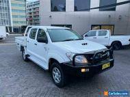 2010 Toyota Hilux KUN26R 09 Upgrade SR (4x4) Manual 5sp M Dual Cab Pick-up