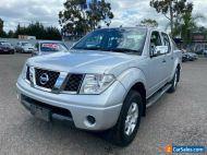 2005 Nissan Navara D40 ST-X (4x4) Silver Manual 6sp M Dual Cab Pick-up