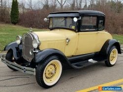 1929 Ford Model A 5 WINDOW COUPE WITH RUMBLE SEAT