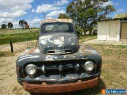 FORD F TRUCK 1952 SIDE VALVE V8  VERY ORIGINAL SOLID CAB F100 F150 F250 F350 !!!