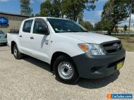 2005 Toyota Hilux TGN16R Workmate White Manual M Utility