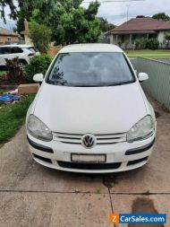 2006 Volkswagen Golf tdi. -SOLD AS IS-NO RWC-NO REGO-NO RESERVE-BUYER COLLECTS-