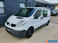 2014 Renault Trafic L2H1 MY11 2.0 DCI LWB White Manual 6sp M Van