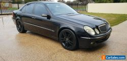 MERCEDES e350 w211 avantgarde v6 leather woodgrain sunroof owner books