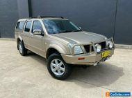 2003 Holden Rodeo RA LT Utility Crew Cab 4dr Auto 4sp 4x4 1005kg 3.0DT Gold A