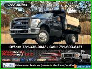 2015 Ford F-350 2015 Ford F-350 F350 XLT Mason Dump Truck 4x4 6.2L V8 Gasoline