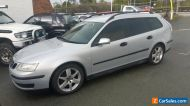 2006 SAAB 93 TURBO WAGON AUTO LEATHER = RWC AND REGISTRATION -112,000KM