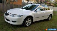 2005 Mazda 6 Automatic 4 Cylinder Hatchback White Registered