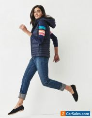 New Crew Clothing Womens Quilted Lightweight Gilet in Dark Navy