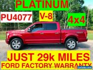 2017 Ford F-150 PLATINUM SUPER CREW 4x4 ONE OWNER SUPER CLEAN FORD