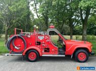 Toyota Land Cruiser 60 series Fire Engine 2 dr single Cab 1983 ,1200 miles only