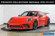 2018 Porsche 911 GT3 6 Speed Carbon Ceramics Axel Lift