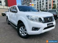 2017 Nissan Navara D23 Series II ST (4x2) White 7 SP AUTOMATIC Dual Cab Utility