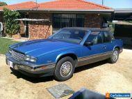 cadillac eldorado  v8 low miles   auto 1988  NO RESERVE