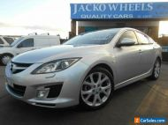 2009 Mazda 6 GH Luxury Sports Silver Automatic 5sp A Hatchback