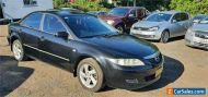 2003 Mazda 6 GG Classic Black Manual 5sp M Sedan