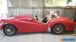 1955 Triuph TR2, Rare and Highly Collectable!