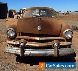 1951 ford twin spinner custom ute