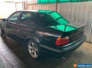 BMW 1997 e36 323i Black Sedan (Repairable Write Off)