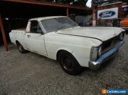 FORD FALCON XY FACTORY V8 UTE SUIT XR XT XW GS GT PROJECT