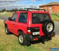 RARE PAJERO SHORTY 4x4 SWB Mitsubishi car not toyota nissan ute jeep defender
